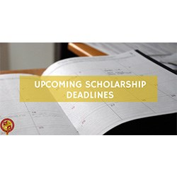 Scholarship Update: April 2017