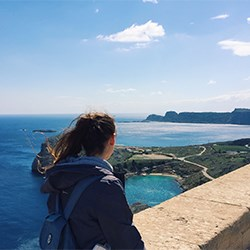 NSHSS Member Nicole Dully: An Eye-opening Experience Volunteering in Greece